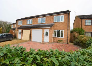 Thumbnail 3 bed semi-detached house for sale in Foxglove Road, Stamford