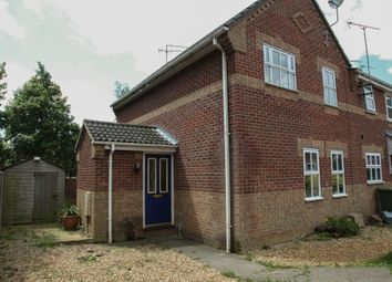Thumbnail 3 bed end terrace house for sale in Mapplebeck Close, King's Lynn
