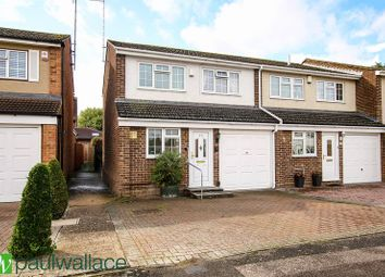 Thumbnail 3 bed semi-detached house for sale in Southbrook Drive, Cheshunt, Waltham Cross