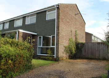 Thumbnail 3 bed semi-detached house to rent in Hardy Close, Thatcham
