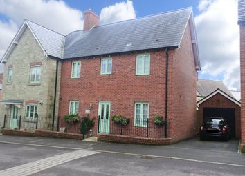 Thumbnail 3 bedroom semi-detached house for sale in Gower Road, Shaftesbury, Dorset