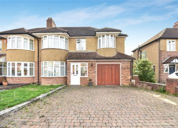 Thumbnail 4 bed semi-detached house for sale in Southbourne Close, Pinner, Middlesex
