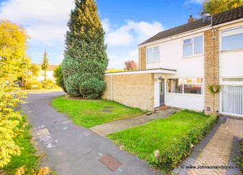 Thumbnail 4 bed end terrace house for sale in Roakes Avenue, Addlestone