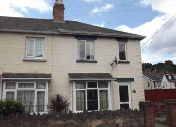 Thumbnail 3 bedroom end terrace house for sale in Sherwell Valley Road, Chelston, Torquay