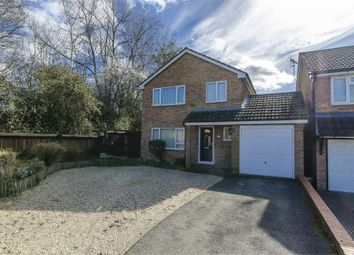 Thumbnail 4 bed detached house for sale in Noyce Drive, Fair Oak, Eastleigh, Hampshire