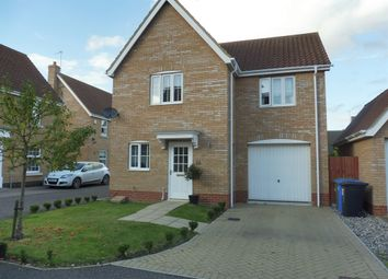 Thumbnail 3 bed detached house for sale in Sunbeam Close, Carlton Colville, Lowestoft