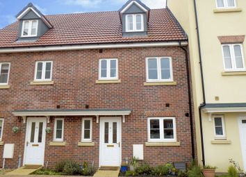 Thumbnail 4 bed terraced house for sale in Cricketers Close, Royal Wootton Bassett, Swindon