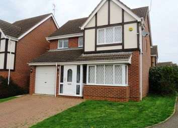 Thumbnail 4 bed detached house for sale in Moorhouse Way, Kettering