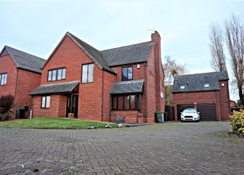 Thumbnail 4 bed detached house for sale in Ferndale Close, Hurley, Atherstone