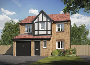 Thumbnail 4 bed detached house for sale in Way's Green, Winsford