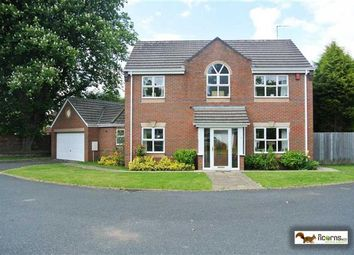 Thumbnail 4 bed detached house for sale in Dove Close, Walsall