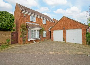 Thumbnail 4 bedroom detached house for sale in Meadowsweet, Eaton Ford, St. Neots