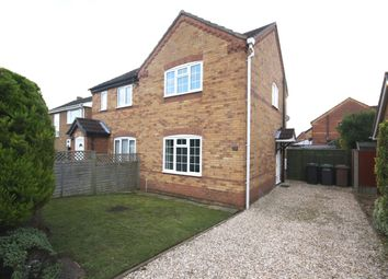 Thumbnail 2 bed semi-detached house to rent in Elmtree Road, Ruskington, Sleaford, Lincolnshire