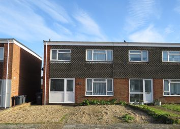 Thumbnail 3 bed end terrace house for sale in Meath Close, Hayling Island