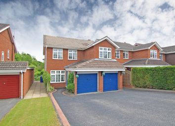 Thumbnail 4 bed detached house for sale in Hollow Lane, Draycott In The Clay, Ashbourne, Derbyshire