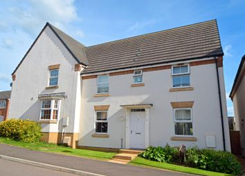 Thumbnail 3 bedroom semi-detached house for sale in Cambridge Way, Culllompton