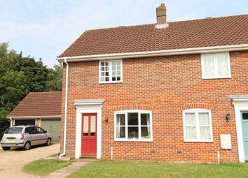 Thumbnail 2 bedroom end terrace house to rent in Bluebell Avenue, Bury St. Edmunds