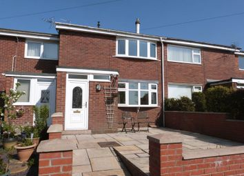 Thumbnail 2 bed terraced house for sale in Clare Street, Mow Cop, Staffordshire