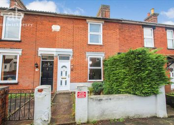 Thumbnail 2 bed terraced house for sale in North Hill Road, Ipswich