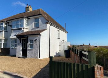 Thumbnail 4 bed semi-detached house for sale in Downs Avenue, Eastbourne