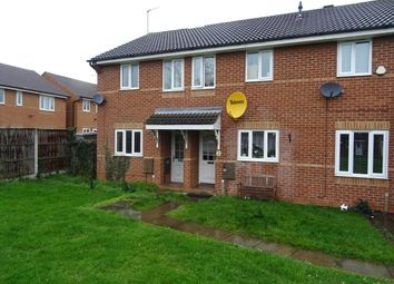 Thumbnail 2 bed terraced house to rent in Edwards Court, Worksop
