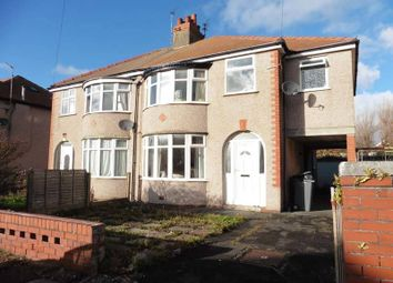 Thumbnail 4 bedroom semi-detached house for sale in Lauderdale Avenue, Thornton-Cleveleys