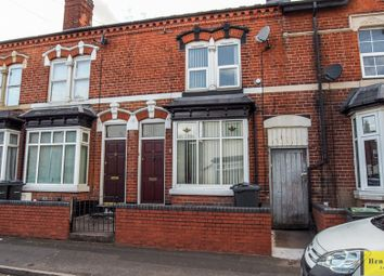 Thumbnail 2 bed terraced house for sale in Howard Road, Handsworth Wood, Birmingham