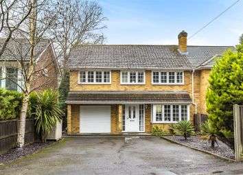 Thumbnail 4 bed semi-detached house for sale in New Wokingham Road, Crowthorne, Berkshire