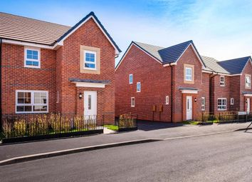 """Thumbnail 4 bed detached house for sale in """"Kingsley"""" at Harper Close, Warwick"""