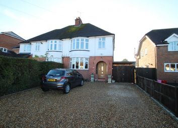 Thumbnail 3 bed semi-detached house to rent in Grazeley Road, Three Mile Cross