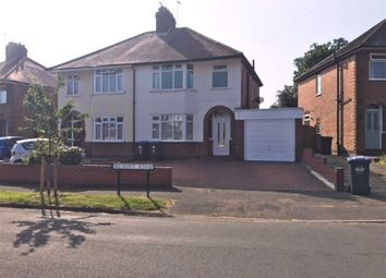 Thumbnail 3 bed semi-detached house to rent in Belmont Road, Rugby