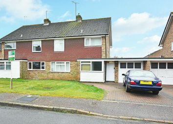 Thumbnail 3 bed semi-detached house for sale in Hillside, Horsham