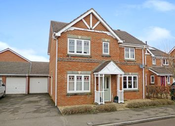 Thumbnail 4 bed detached house for sale in Fell Road, Westbury