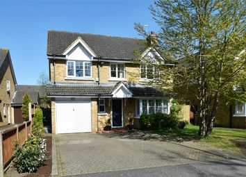 Thumbnail 4 bed detached house for sale in Sovereign Drive, Camberley, Surrey