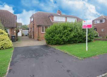 Thumbnail 3 bed semi-detached bungalow for sale in St. Johns Avenue, Burgess Hill
