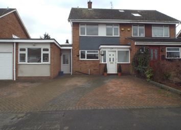 Thumbnail 4 bed semi-detached house to rent in Longfields, Ongar