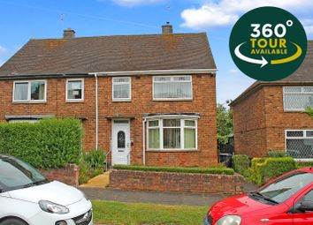 Thumbnail 3 bed semi-detached house for sale in Laburnum Road, Netherhall, Leicester