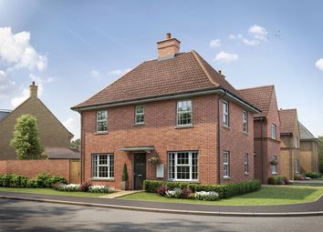 "Thumbnail 3 bedroom detached house for sale in ""The Sharnbrook Corner"" at Kiln Drive, Stewartby, Bedford"