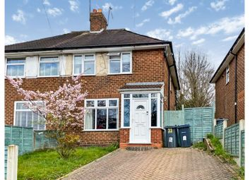 Thumbnail 2 bed semi-detached house for sale in Woodmeadow Road, Birmingham