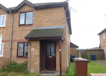 Thumbnail 1 bed terraced house for sale in Chantry Close, Chatteris