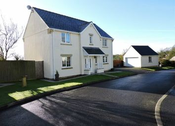 Thumbnail 4 bed detached house for sale in Crunwere Close, Narberth, Pembrokeshire