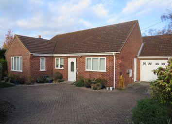 Thumbnail 3 bed detached bungalow for sale in Dereham Road, Garvestone, Norwich