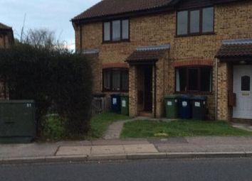 Thumbnail 2 bedroom terraced house to rent in Caernarvon Road, Eynesbury, St. Neots, Cambridgeshire