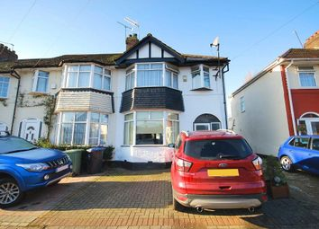 Thumbnail 3 bed end terrace house for sale in Burns Road, Wembley, Middlesex