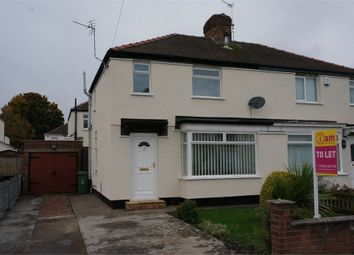 Thumbnail 3 bed semi-detached house to rent in Rugby Road, Stockton, Cleveland