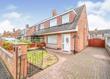 Thumbnail 3 bed semi-detached house for sale in Sandiway Avenue, Widnes, Cheshire