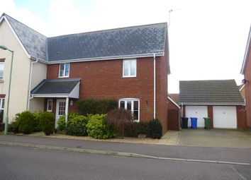 Thumbnail 3 bedroom property to rent in Monarch Way, Carlton Colville, Lowestoft