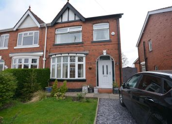 Thumbnail 3 bed semi-detached house for sale in Kingsway, Crewe