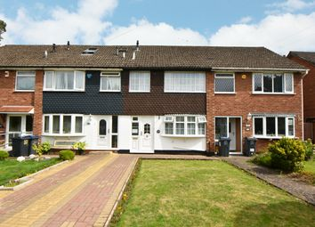 Thumbnail 3 bed terraced house for sale in Larchmere Drive, Hall Green, Birmingham