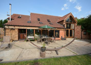 Thumbnail 6 bed barn conversion for sale in Church Road, Ellough, Suffolk